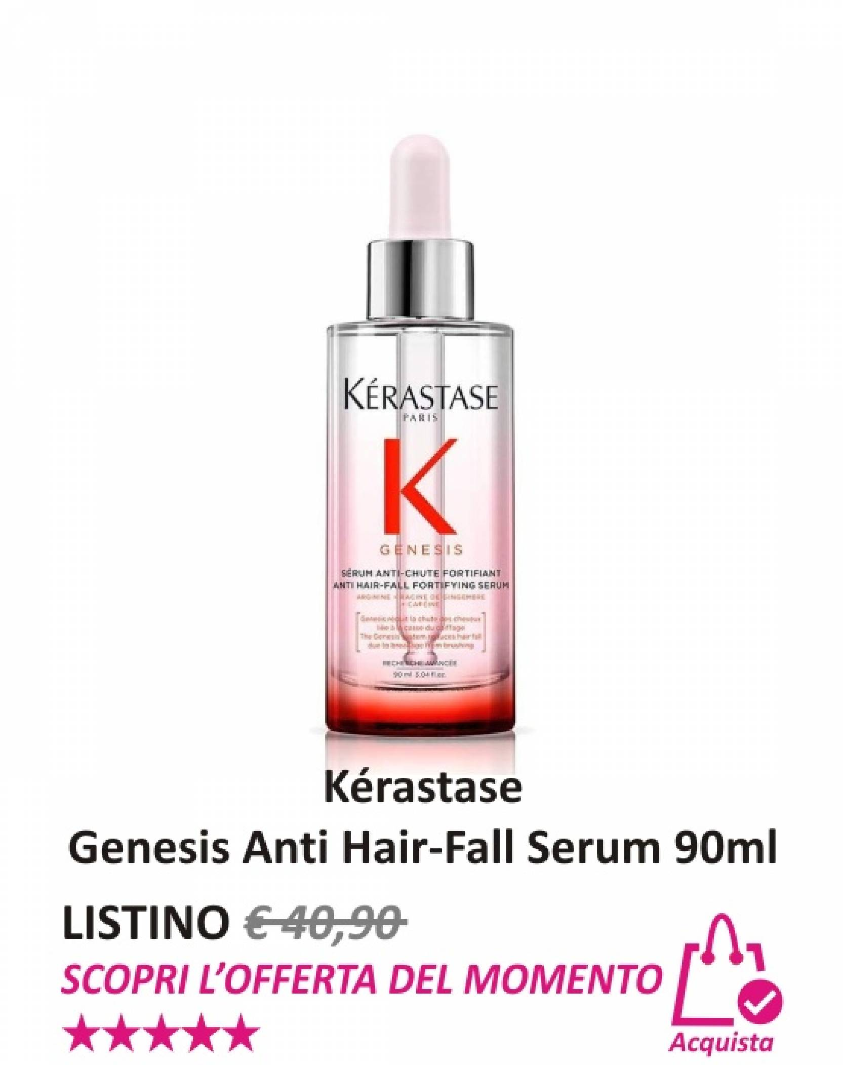 Kérastase Genesis Anti Hair-Fall Serum 90 ml