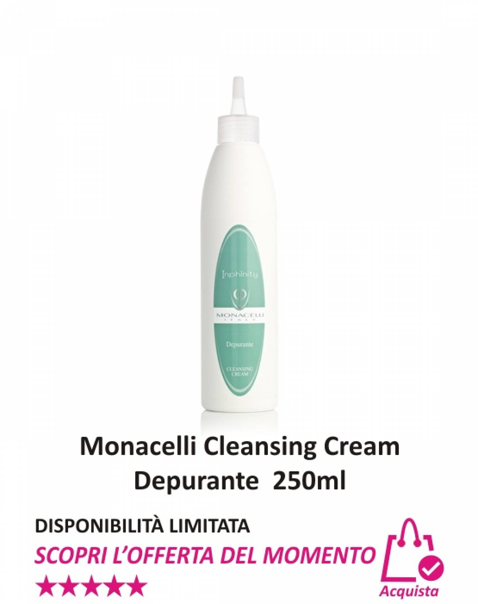 Monacelli Cleansing Cream Depurante 250 ml