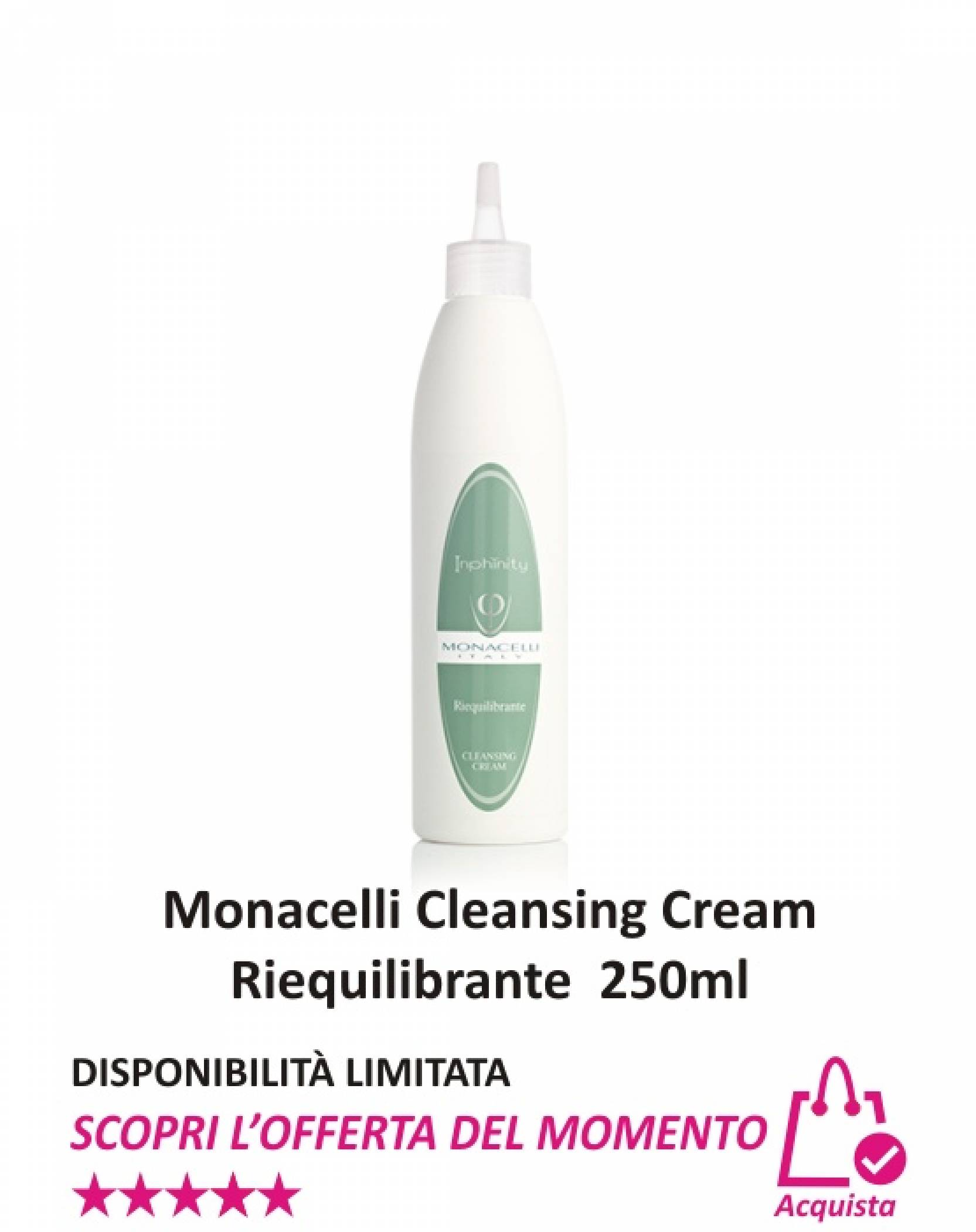 Monacelli Cleansing Cream Riequilibrante 250 ml