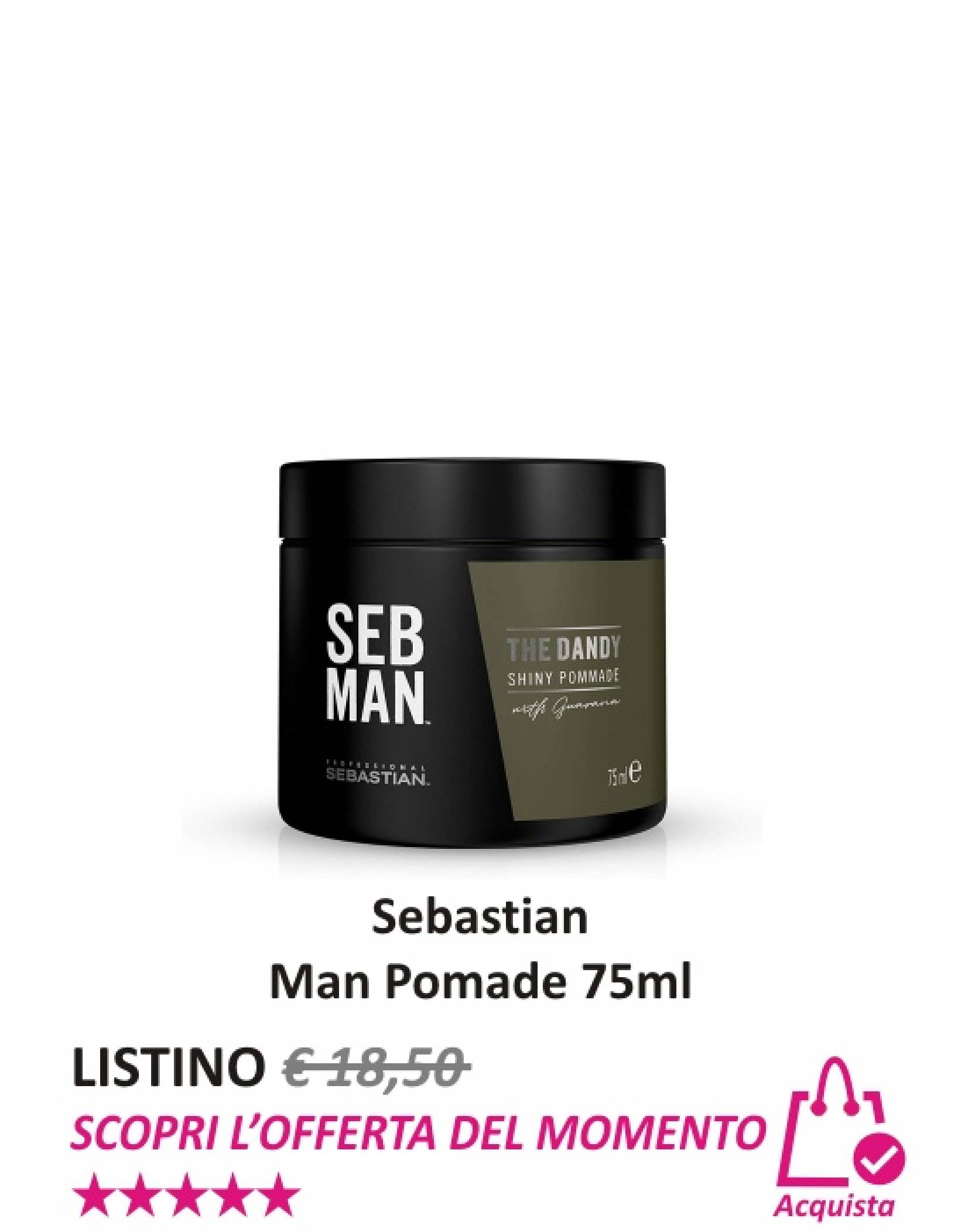 Sebastian Man Pomade 75 ml