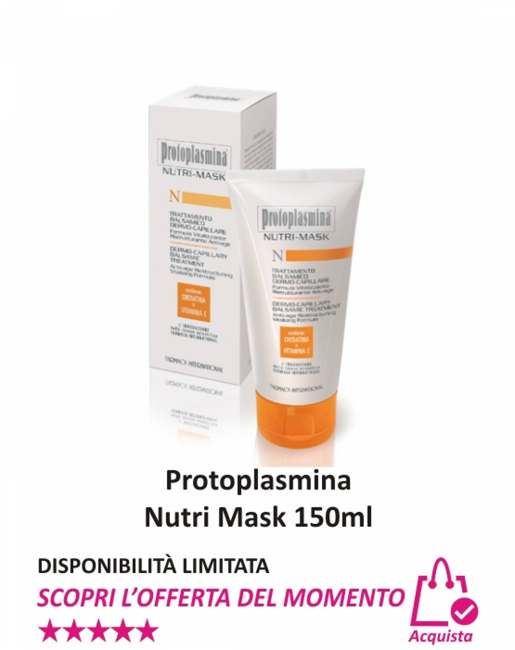 Protoplasmina Nutri Mask 150 ml