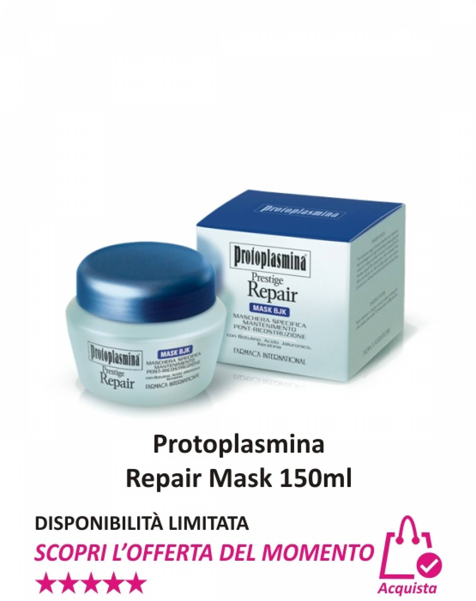 Protoplasmina Repair Mask 150 ml