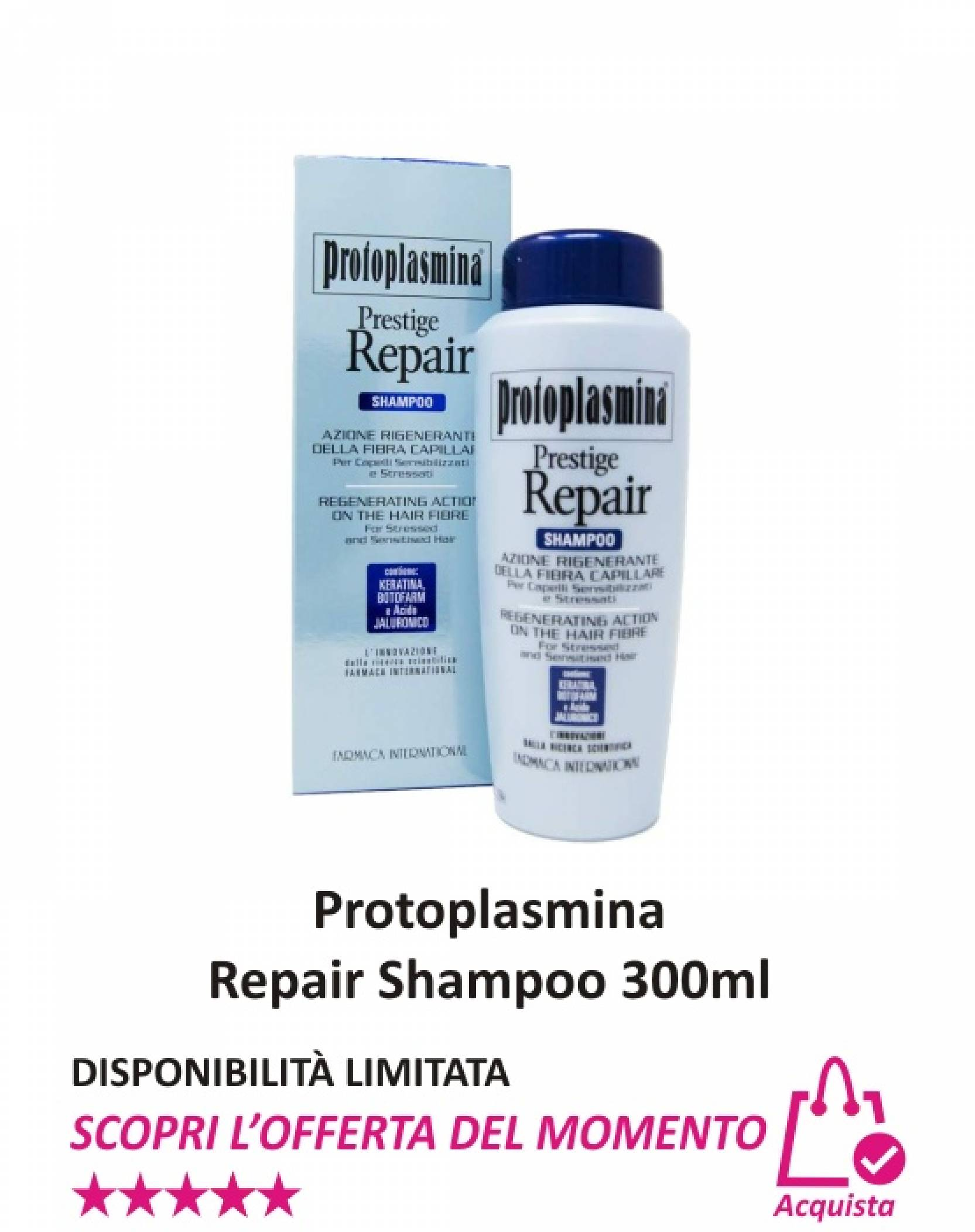 Protoplasmina Repair Shampoo 300 ml