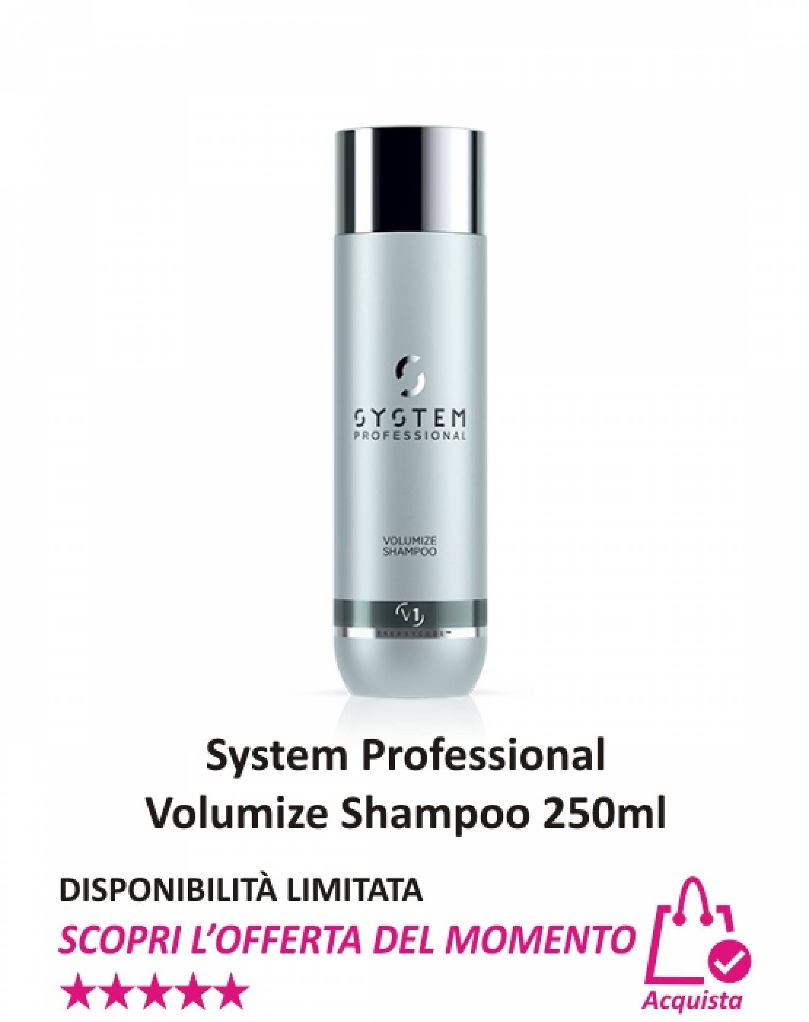 System Professional Volumize Shampoo 250 ml